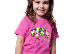 Flower Buffalo TShirt