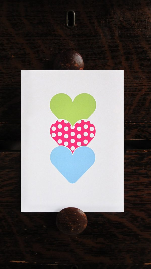 Sweet Hearts Any Occasion Blank Card