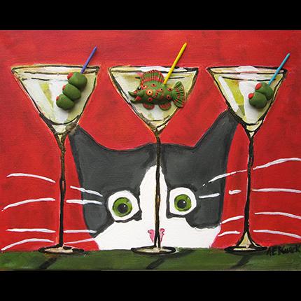 Martini Cat Alison Kurek