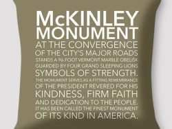 McKinley Monument Pillow