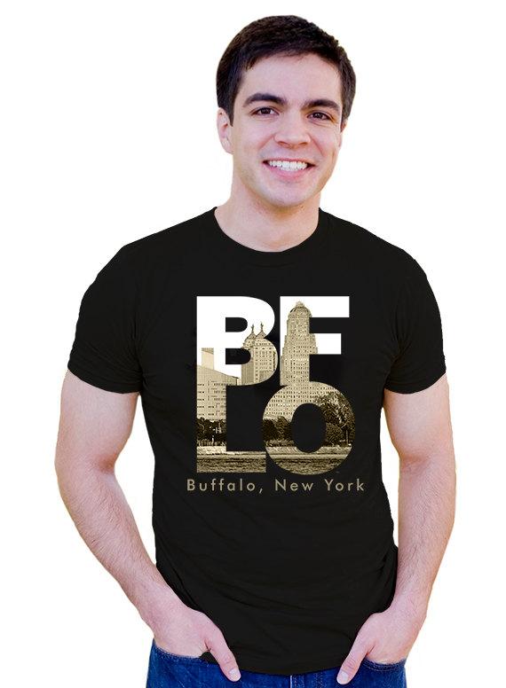 Buffalo Architecture T-Shirt