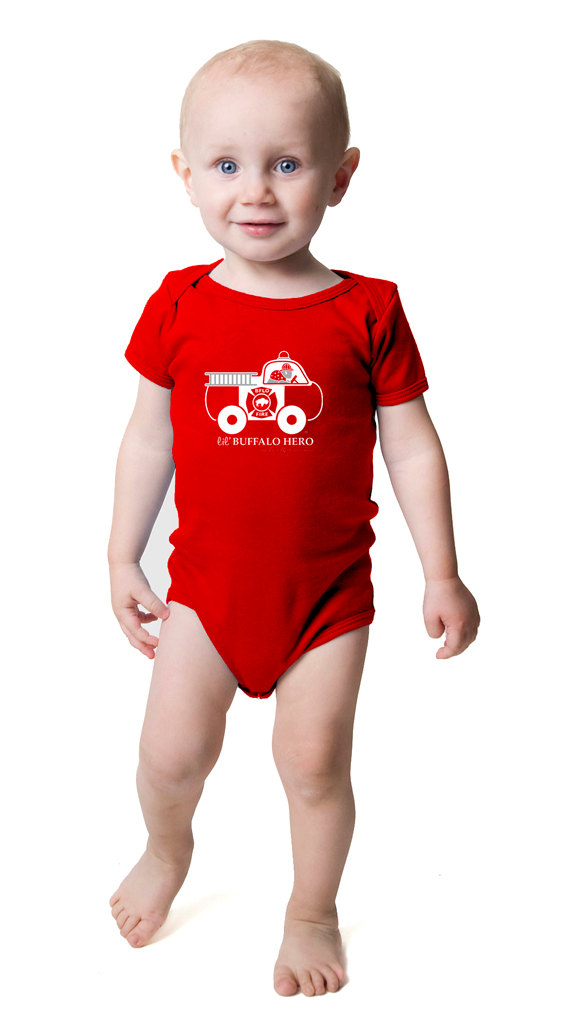 buffalo hero onesie firefighter