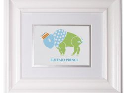 Buffalo Prince Nursery Art