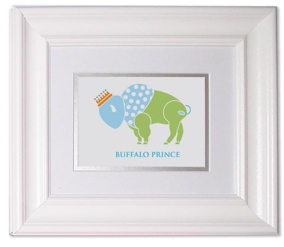 Buffalo Prince Nursery Art