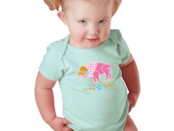 darling buffalo onesie