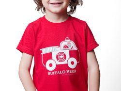 firefighter firetruck shirt