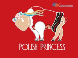 Buffalo polish princess art