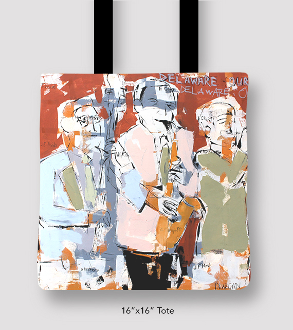 Inspired Buffalo Phil Durgan Horn Section Tote