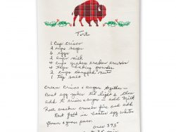 Buffalo Tea Towels