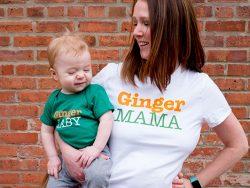Ginger Mama & Baby