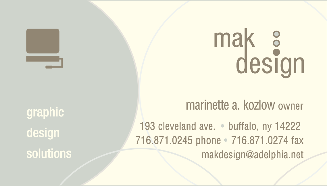 Show old business card under DBA name